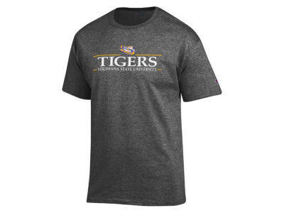 LSU Tigers 2 for $25 Champion NCAA Men's Line Stack T-Shirt