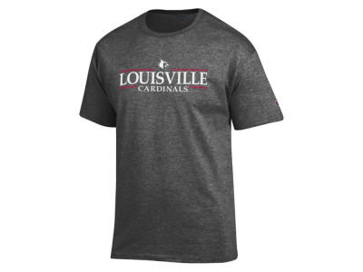 Louisville Cardinals 2 for $25 Champion NCAA Men's Line Stack T-Shirt