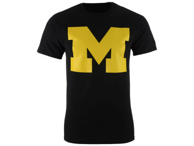 Michigan Wolverines Champion NCAA Men's Big Logo T-Shirt