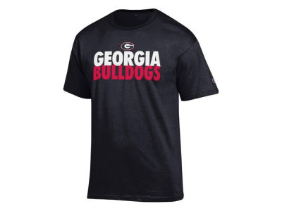 Georgia Bulldogs 2 for $28 Champion NCAA Men's Verb Stack T-Shirt