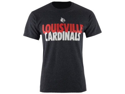 Louisville Cardinals NCAA 2 for $28 Champion NCAA Men's Verb Stack T-Shirt