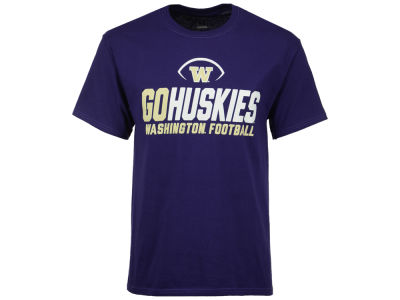 Washington Huskies 2 for $25 Champion NCAA Men's Sport Stack T-Shirt