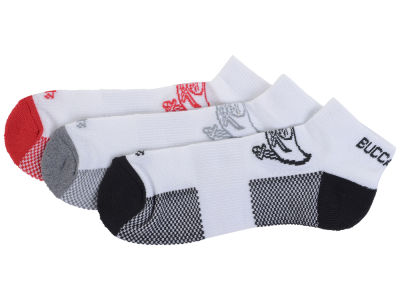 Tampa Bay Buccaneers 3-pack Brink Motion Low Cut Socks