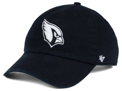 Arizona Cardinals '47 NFL Black and White '47 CLEAN UP Cap