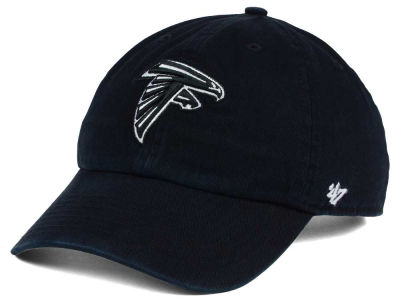 Atlanta Falcons '47 NFL Black and White '47 CLEAN UP Cap