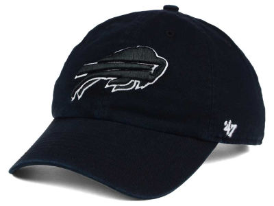 Buffalo Bills '47 NFL Black and White '47 CLEAN UP Cap