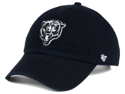 Chicago Bears '47 NFL Black and White '47 CLEAN UP Cap