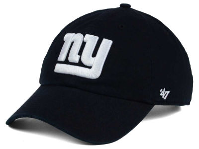 New York Giants '47 NFL Black and White '47 CLEAN UP Cap