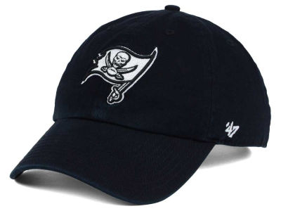 Tampa Bay Buccaneers '47 NFL Black and White '47 CLEAN UP Cap