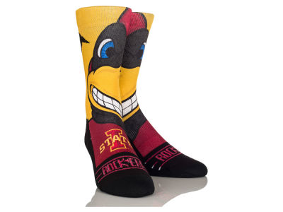 Iowa State Cyclones Mascot Socks