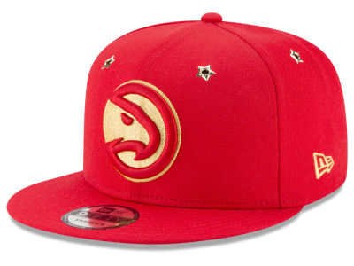 Atlanta Hawks New Era NBA All Star Gold Star Snapback Cap