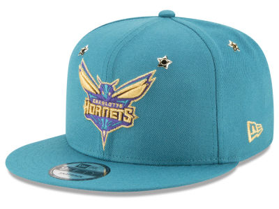 Charlotte Hornets New Era NBA All Star Gold Star Snapback Cap
