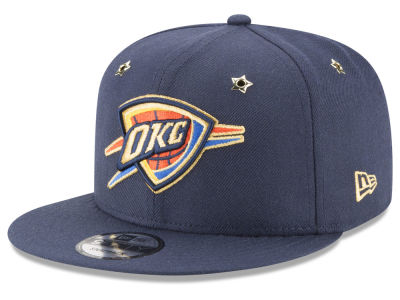 Oklahoma City Thunder New Era NBA All Star Gold Star Snapback Cap
