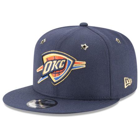 Oklahoma City Thunder New Era NBA All Star Gold Star Snapback Cap