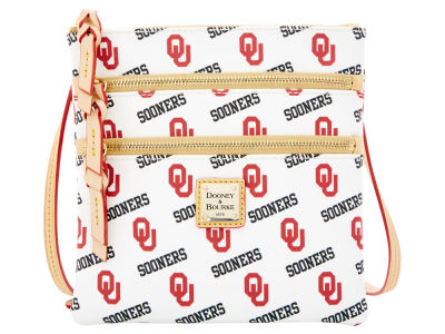 Oklahoma Sooners Dooney & Bourke Triple Zip Crossbody Bag