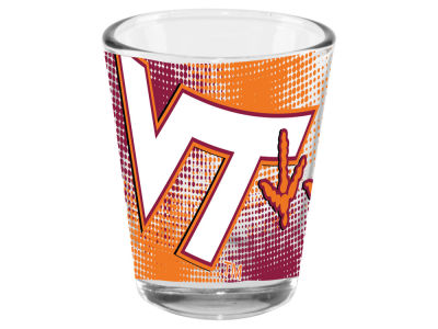Virginia Tech Hokies 2oz Fade Away Collector Glass