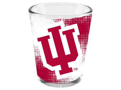 Indiana Hoosiers 2oz Fade Away Collector Glass