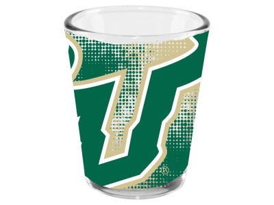 South Florida Bulls Memory Company 2oz Fade Away Collector Glass
