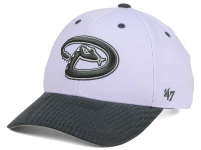 Arizona Diamondbacks '47 MLB 2Tone White/Charcoal '47 MVP Cap