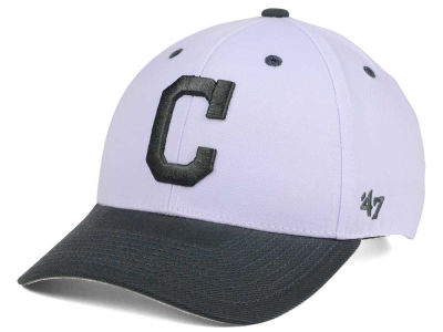 Cleveland Indians '47 MLB 2Tone White/Charcoal '47 MVP Cap