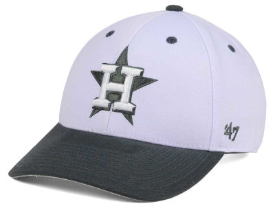 Houston Astros '47 MLB 2Tone White/Charcoal '47 MVP Cap