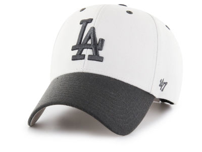 Los Angeles Dodgers '47 MLB 2Tone White/Charcoal '47 MVP Cap