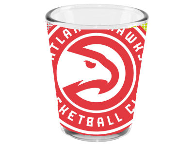 Atlanta Hawks 2oz Fade Away Collector Glass