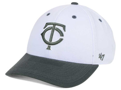Minnesota Twins '47 MLB 2Tone White/Charcoal '47 MVP Cap