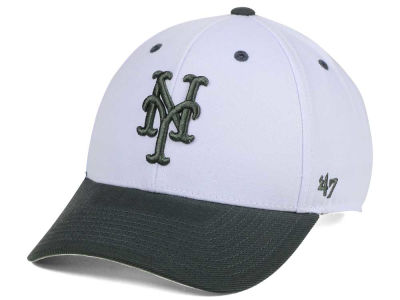 New York Mets '47 MLB 2Tone White/Charcoal '47 MVP Cap