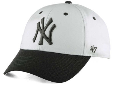 New York Yankees '47 MLB 2Tone White/Charcoal '47 MVP Cap