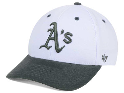 Oakland Athletics '47 MLB 2Tone White/Charcoal '47 MVP Cap