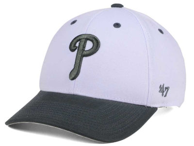 Philadelphia Phillies '47 MLB 2Tone White/Charcoal '47 MVP Cap
