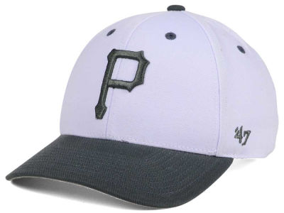 Pittsburgh Pirates '47 MLB 2Tone White/Charcoal '47 MVP Cap
