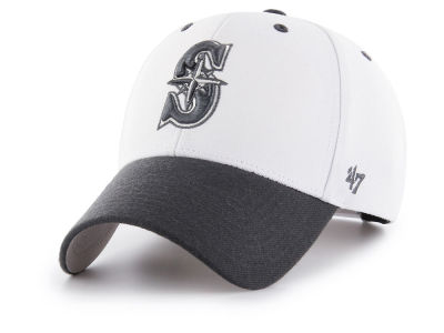 Seattle Mariners '47 MLB 2Tone White/Charcoal '47 MVP Cap