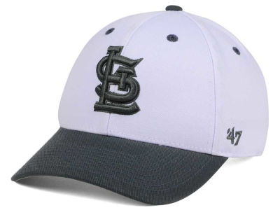 St. Louis Cardinals '47 MLB 2Tone White/Charcoal '47 MVP Cap