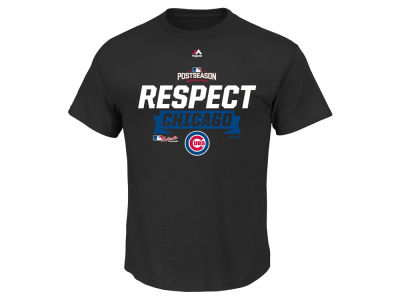 Chicago Cubs Majestic MLB Men's Division Series Locker Room T-Shirt