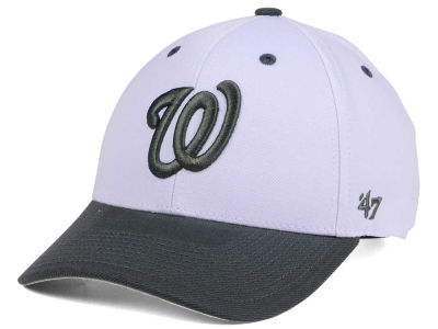 Washington Nationals '47 MLB 2Tone White/Charcoal '47 MVP Cap