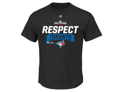 Toronto Blue Jays Majestic MLB Men's Division Series Locker Room T-Shirt