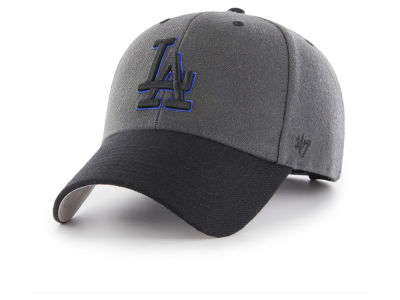Los Angeles Dodgers '47 MLB 2Tone Charcoal/Black Pop '47 MVP Cap
