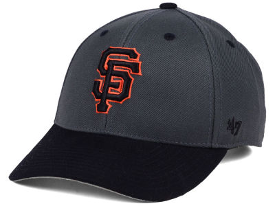 San Francisco Giants '47 MLB 2Tone Charcoal/Black Pop '47 MVP Cap