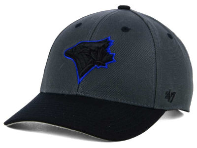 Toronto Blue Jays '47 MLB 2Tone Charcoal/Black Pop '47 MVP Cap