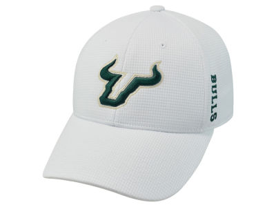 South Florida Bulls Top of the World NCAA White Booster Cap