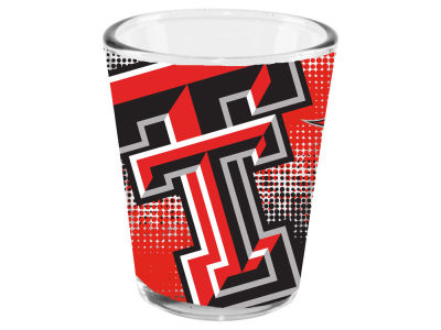 Texas Tech Red Raiders 2oz Fade Away Collector Glass