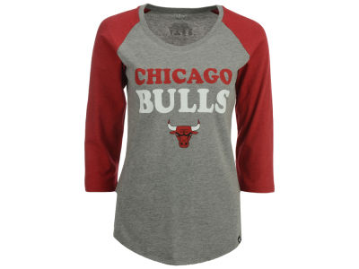 Chicago Bulls NBA Women's Club Block Raglan T-Shirt