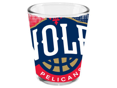 New Orleans Pelicans 2oz Fade Away Collector Glass