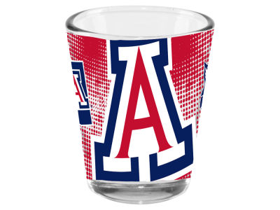 Arizona Wildcats Memory Company 2oz Fade Away Collector Glass