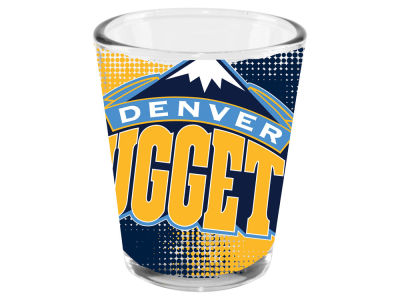 Denver Nuggets 2oz Fade Away Collector Glass