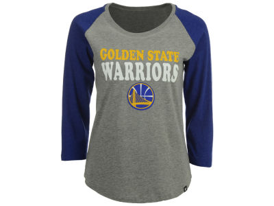 Golden State Warriors NBA Women's Club Block Raglan T-Shirt