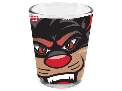 Cincinnati Bearcats 2oz Fade Away Collector Glass