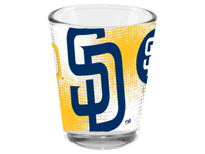 San Diego Padres 2oz Fade Away Collector Glass